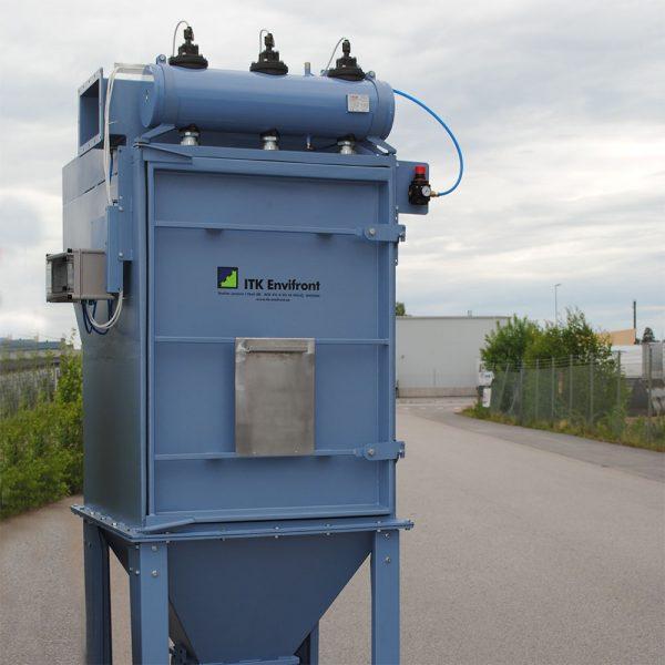 Komplett filter PFMG-10 klar för leverans från fabrik