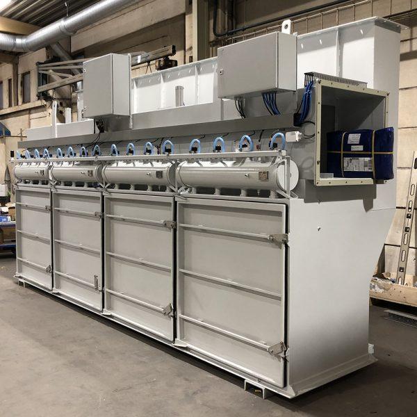 Filtertopp PFMG-52 färdig för leverans