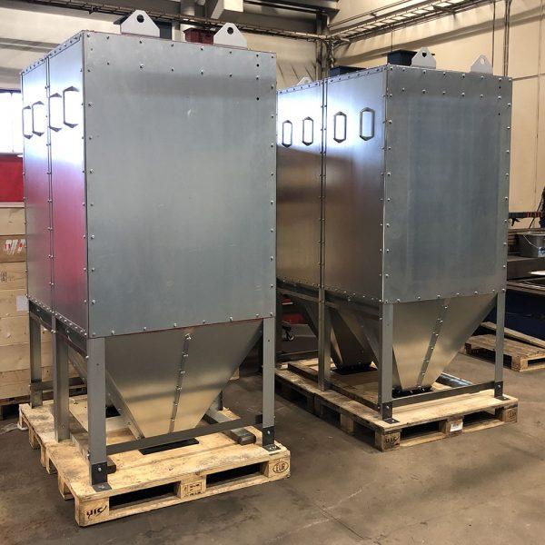 Oisolerat filter PFMO-2 färdig för leverans