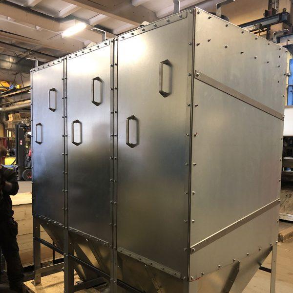 Oisolerat filter PFMO-3 färdig för leverans