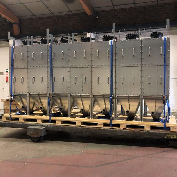 Oisolerat filter PFMO-7 färdig för leverans