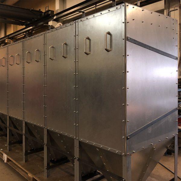 Oisolerat filter PFMO-8 färdig för leverans