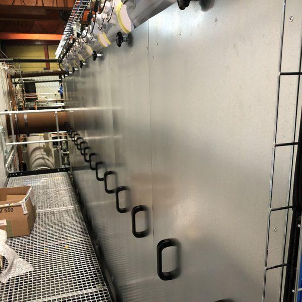 Isolerat filter PFMO-7 i fabrik