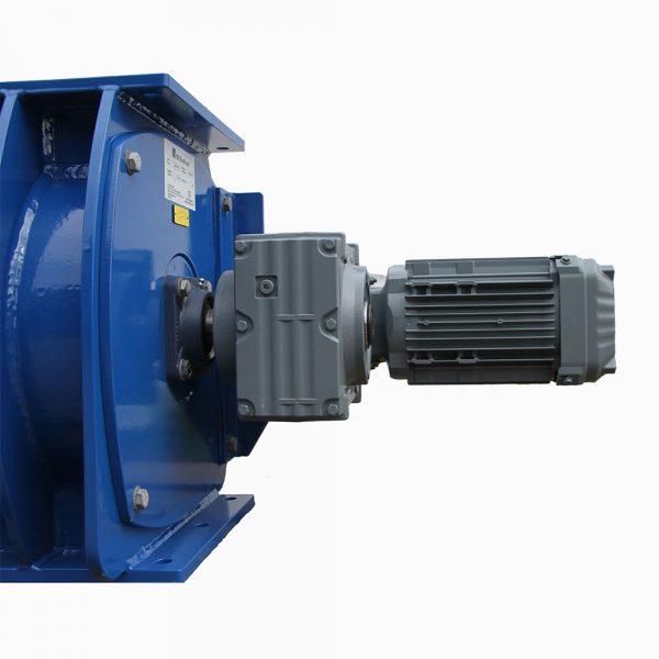 Sluss SSCB storlek 40 i förstärkt version närbild motordrift sida