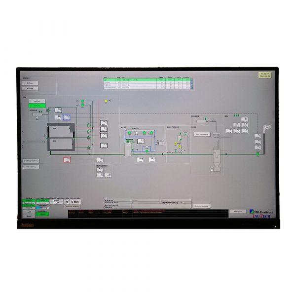 Processvy i användargränssnitt för krematoriestyrning