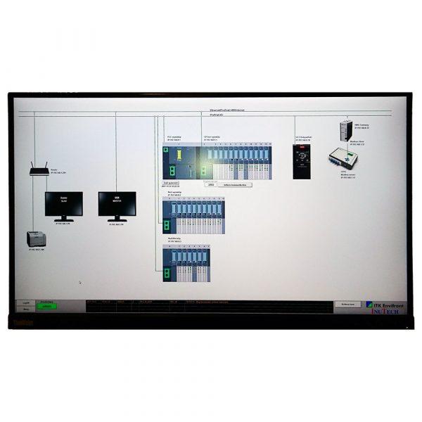 Systemvy i användargränssnitt för krematoriestyrning