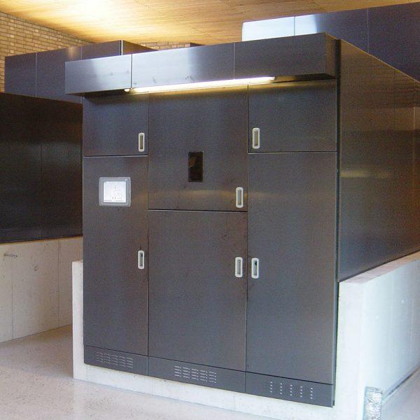 Krematorieugn för styrning med styrsystem från ITK Envifront