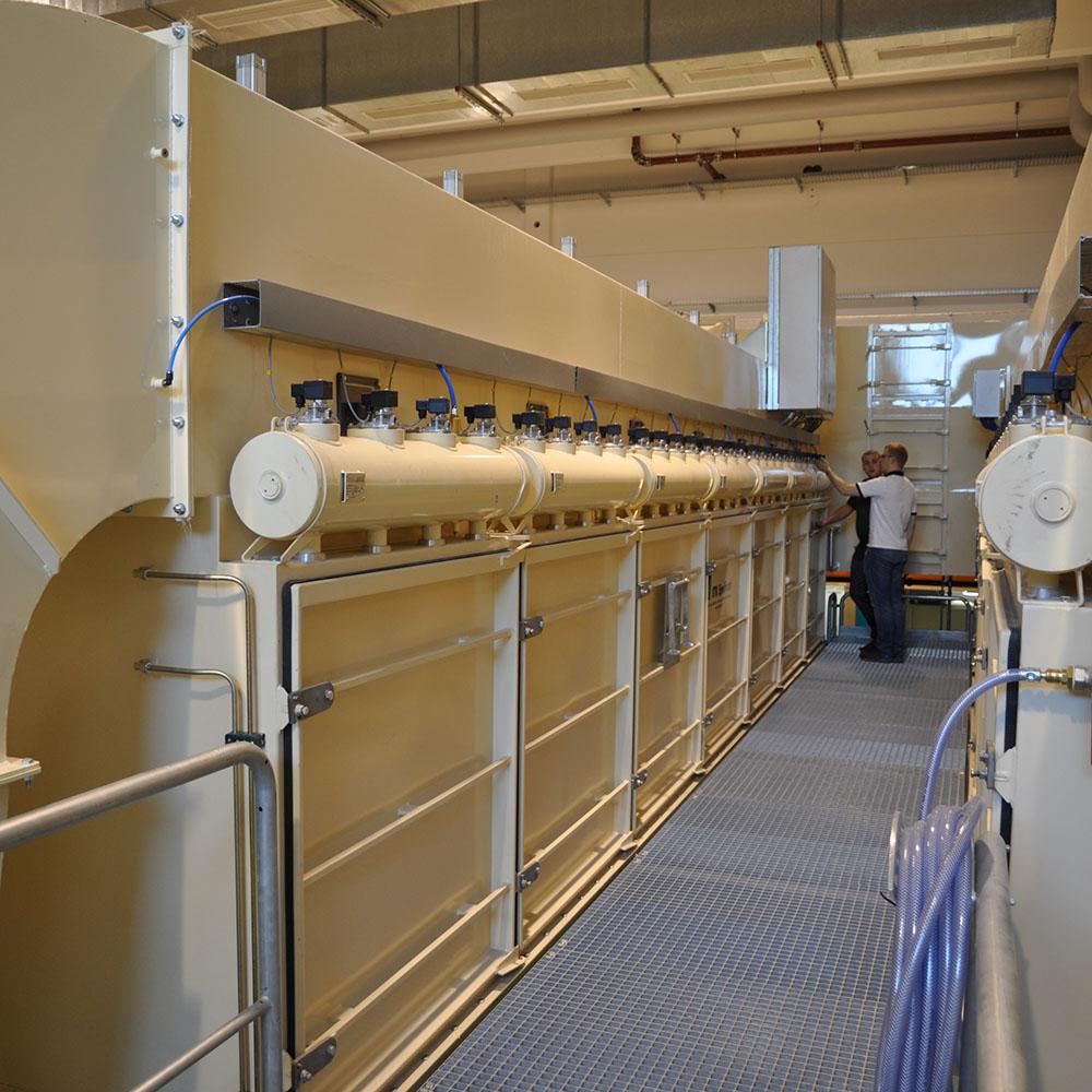 PFMG-22 serviceplan på installerat filter