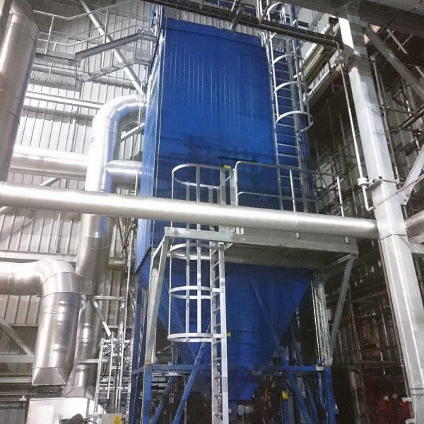 Installerat slangfilter PFSC i drift Argent Energy