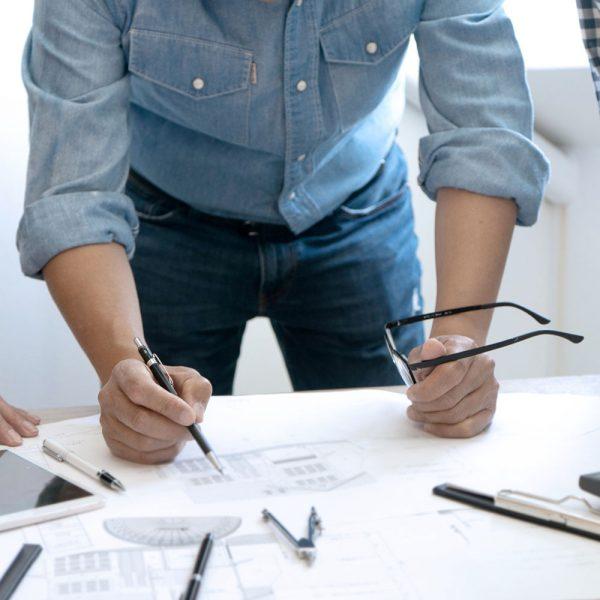 Vi projekterar tillsammans med dig som kund för att skapa en så kostnadseffektiv och robust anläggning som möjligt.